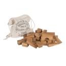 50 XL-Bauklötze - natur - von Wooden Story