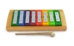 Einzelton-Glockenspiel 8 Töne - diatonisch