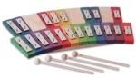 Glockenspiel Regenbogenfarben - chromatisch - 20 Töne