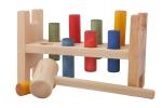 Klopfspiel von Wooden Story - Öko-Farben