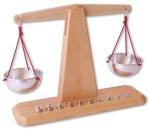 Waage mit 10 Gewichten von Decor Spielzeug