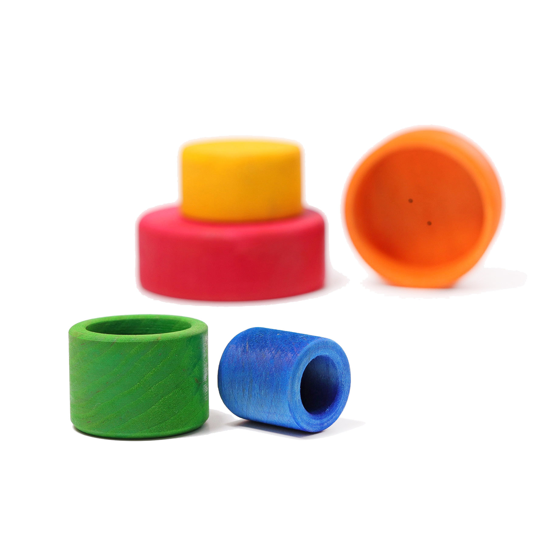 Spiel & Klang ausgesucht gutes Spielzeug Schälchenset
